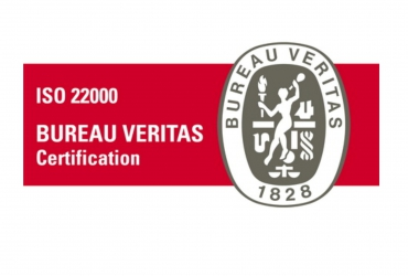 Extended certificate ISO 22000 : 2005